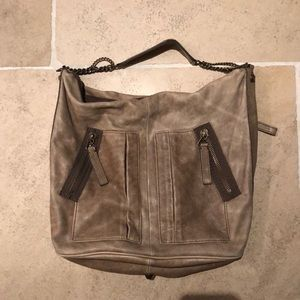 Butter soft distressed leather  J Crew purse